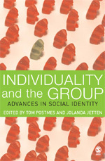 Postmes and Jetten's book contains a discussion of the relationship between individuals and groups in the BBC Prison Study